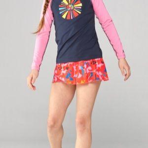 REI Co-op Girl's Multicolor Zonai Swim Skort 1149